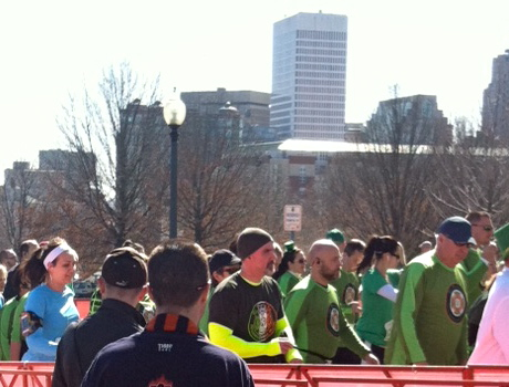 Guess which one is me? LOL so many dudes in green...